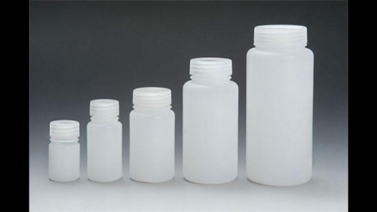 Бутли с широким горлом из полиэтилена высокой плотности (HDPE)