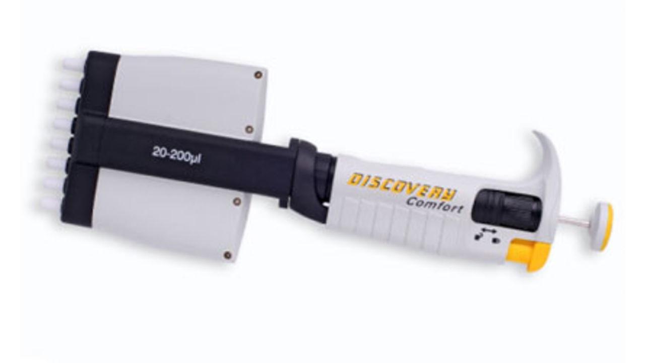 8 и 12-канальные дозаторы с изменяемым объемом дозирования DISCOVERY
