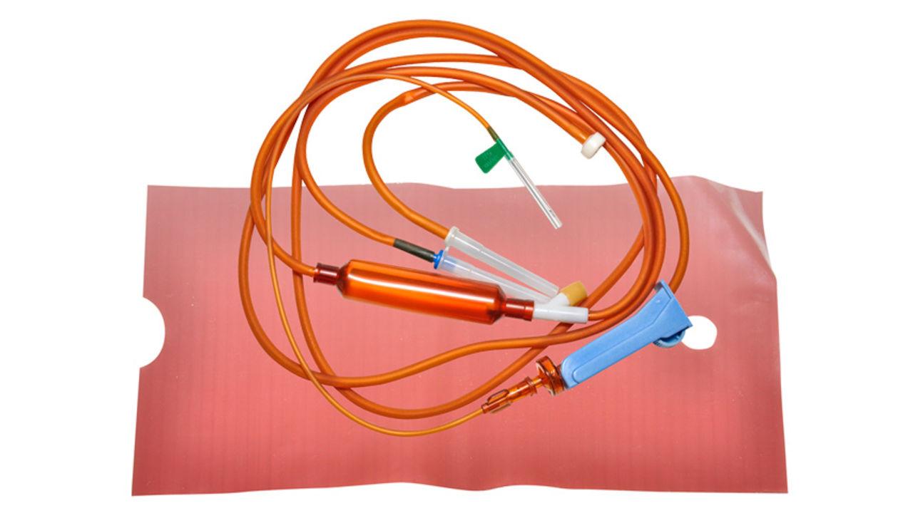 Система переливания инфузионных растворов (для светочувствительных препаратов)