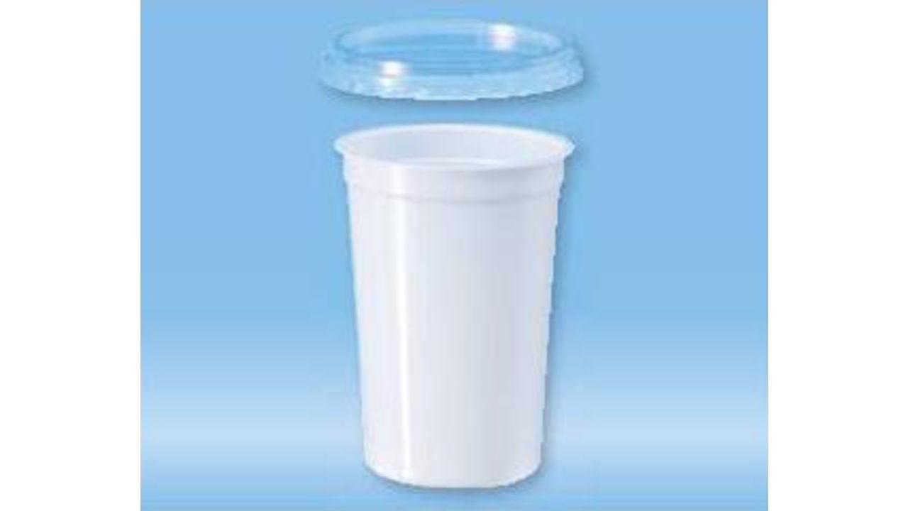 250 мл контейнер полистирол, белый