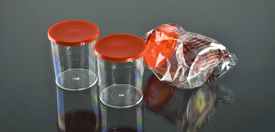 Контейнер для биоматериалов 50 мл, стерильный №0002