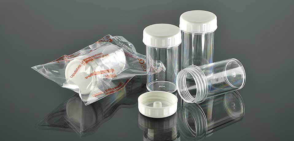 Контейнер для образцов 15 мл, стерильный №0009