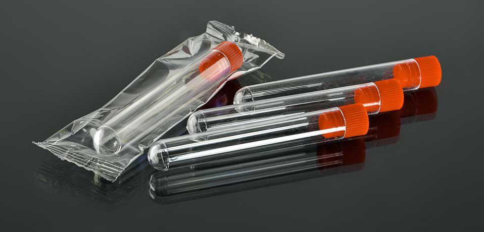 Пробирка 12x75, 4 мл, с пробкой, стерильная и нестерильная №0031 и №0033